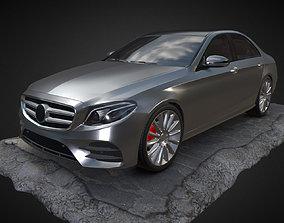 3D model Mercedes E400 W213