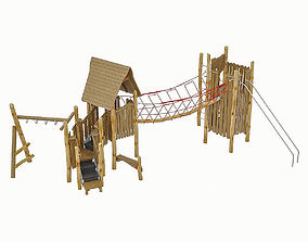 3D asset Playground Equipment 061