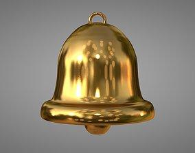 Golden Bell 3D model