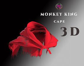 DTS- Monkey King - Cape 3D asset