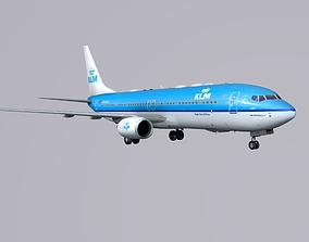 3D model Boieng 737-800 KLM