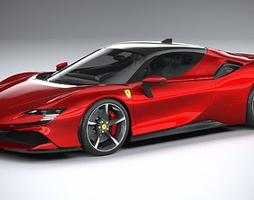 3D model Ferrari SF90 Stradale 2021