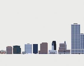 3D San Francisco Buildings
