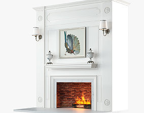 3D Fireplace Design V2 model