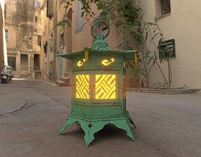 3D model Japanese Lantern