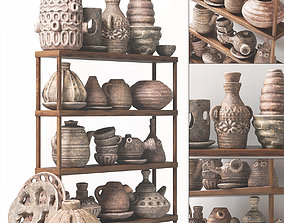3D Dishes clay rack n6