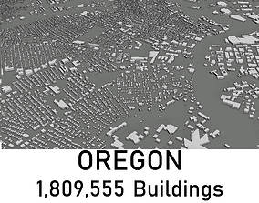 low-poly Oregon - 1809555 3D Buildings