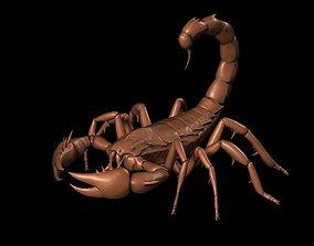 High Precision 3D Scorpion Sculpture 3D Printing