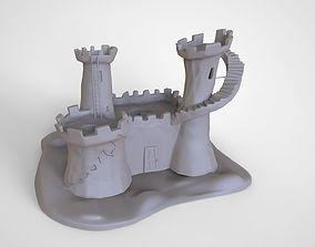Fort Fantasy Castle 3D Print High Detail Model
