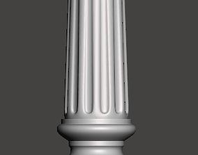 Balauster-Column - 3d model for CNC -