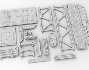 Chemical plant 3D print model