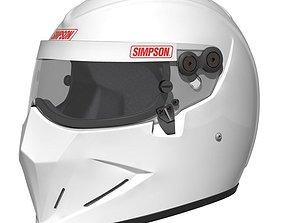3D Simpson Diamondback - Stig Helmet