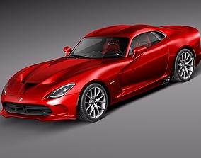 3D Dodge Viper GTS 2013