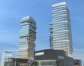 3D Cityscape 3
