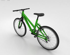 Bicycle Green 3D model