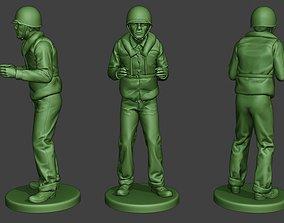 3D print model US Navy Sailor ww2 Action USN1