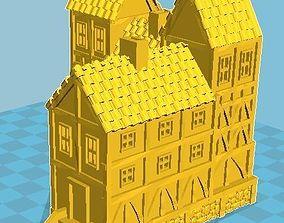 Medieval House 12 3D print model