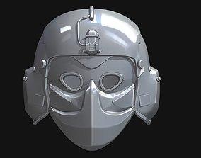 3D printable model Pilot helmet