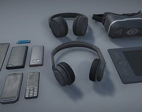 3D model game-ready Gadget Pack