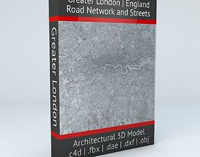 Greater London Road Network and 3D model
