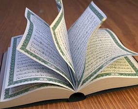 3D model Quran with animation