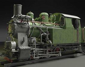 poland 3D model Py-27 Steam Locomotive