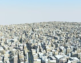 low poly citY 3D asset VR / AR ready