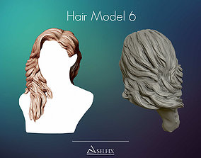 Hairstyle model 06