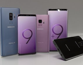3D Samsung S9 and S9 Plus Collection