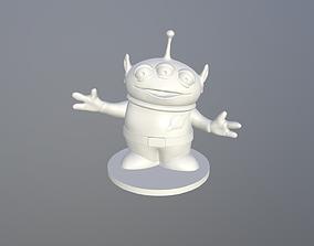 Alien Toy print ready for FDM or SLA printing 3D print