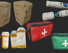 3D model First Aid Collection PBR