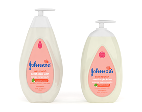 Johnsons Skin Nourish Sweet Apple Wash 3D model
