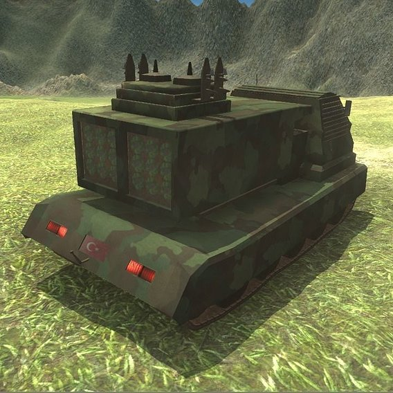 Rocket Artillery with Animated Ramp  (ON SALE ON PROFILE and UNITY ASSET STORE)
