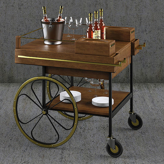 Baron Cart Retro modern Design