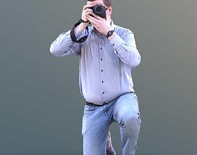 3D asset Fabian 10589 - Photographing Casual Man