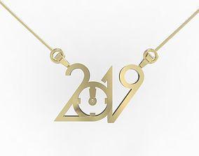 3D print model 2019 Necklace