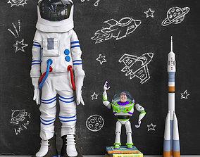 3D Set for children Space