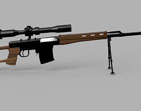 Dragunov Sniper rifle scale model