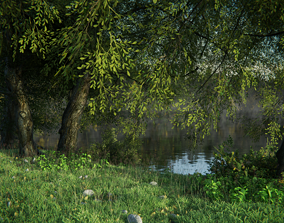 VR / AR ready Nature Pack Asset01