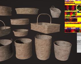Wowen Basket Set 3D model