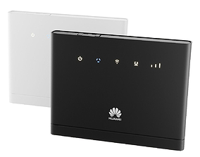 3D model WiFi Router - Huawei B315