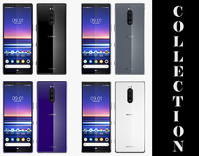 Sony Xperia 1 All Colors 3D