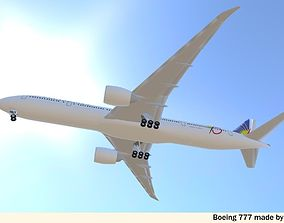 Template - Boeing 767-300ER 3D model | CGTrader