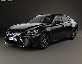 Lexus GS Hybrid 2015 3D