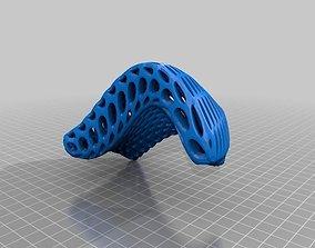 Organic Rectangle 3D printable model