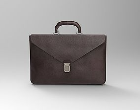 realtime 3d Lowpoly Briefcase model