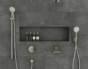 3D Hansgrohe shower system