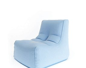 Armchair Without Arms 3D