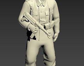 German Infantry Soldier 3D printable model