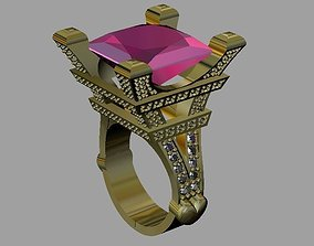 Eiffel ring 3D printable model